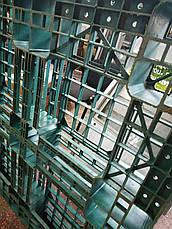 Пластиковый поддон EOG-1111 1100×1100×120мм б/у, фото 2