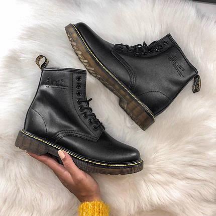Женские зимние ботинки Dr. Martens с мехом, фото 2