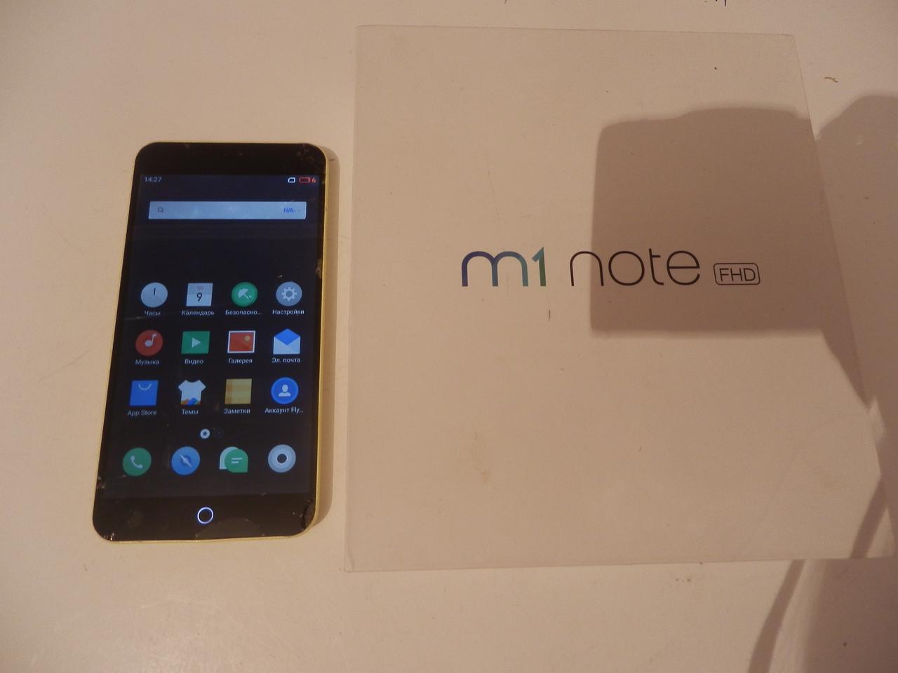 Мобильный телефон Meizu M463 ( M1 note) №7181