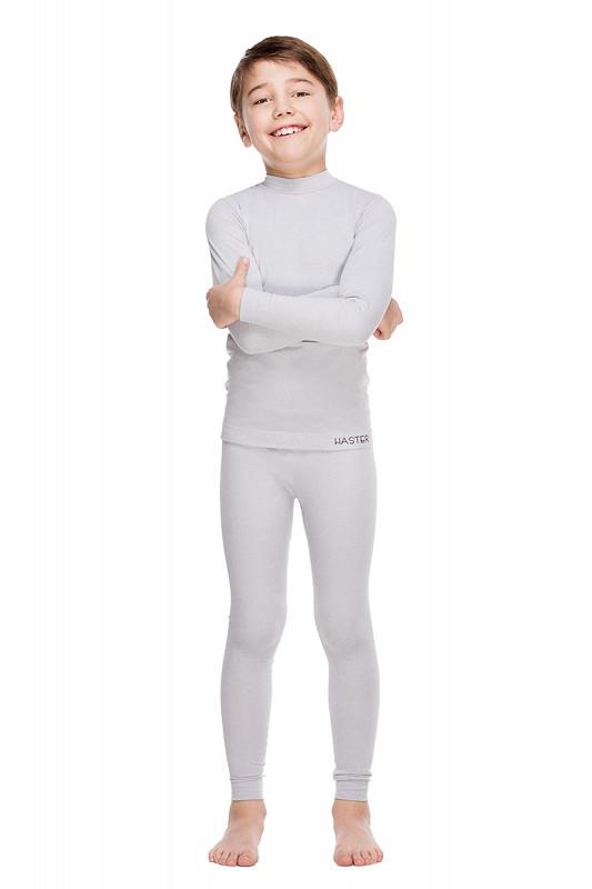 Термобелье детское бесшовное Haster ThermoClima Серый 104-110