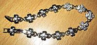 """Серебристый    браслет   """"Клевер"""" от студии LadyStyle.Biz, фото 1"""