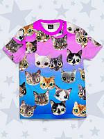 Футболка детская Милые котята