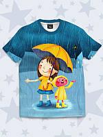 Футболка детская Under rain
