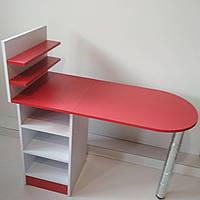 Маникюрный стол с подставкой