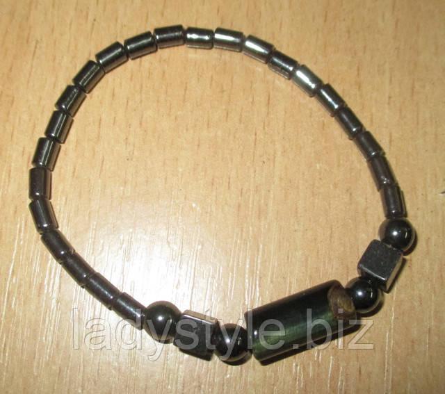 гематит браслет для мужчины купить подарок украшения лечение