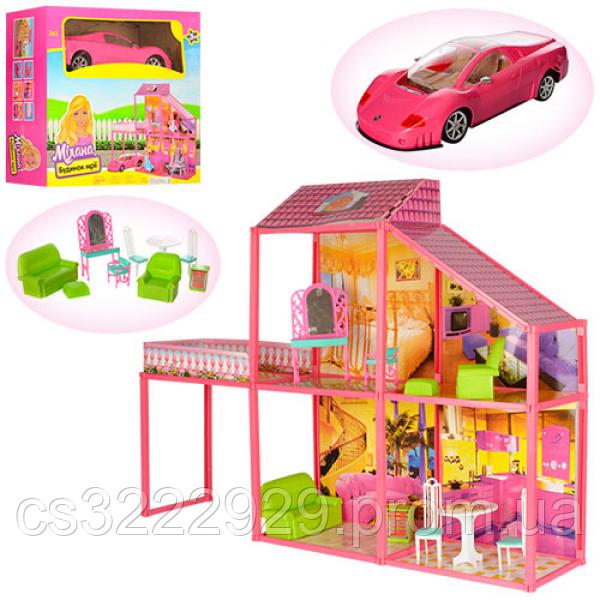 Домик с машиной для куклы 6981