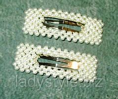Прямоугольный зажим для волос (заколки) от LadyStyle.Biz