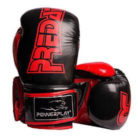 Боксерські рукавиці 3017 Чорні карбон 16 унцій R144168