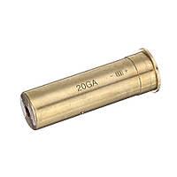 Калибр 20GA Лазер прикуриватель красный прицел латунный патрон калибратор-1TopShop