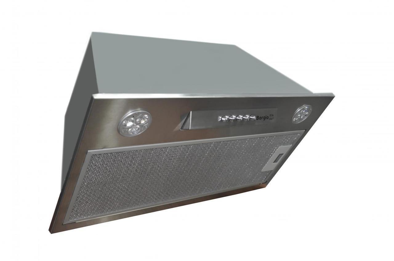 Вытяжка кухонная встраиваемая BORGIO BIT BOX 60 inox (750)