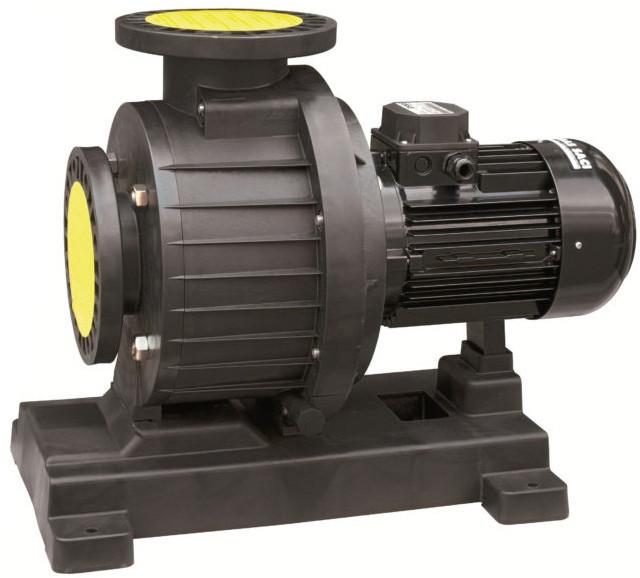 Насос Saci Kontra 4–1000 (7,5 кВт/400В) 126 м³/ч, фланец 110 мм (бронзовая турбина)
