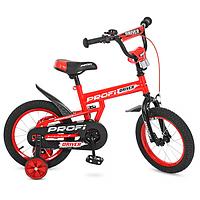 Велосипед детский с дополнительными колесами PROFI Driver 14Д. L14112