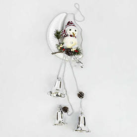 Декоративная композиция Снеговик на луне C 30427 60 - 182036