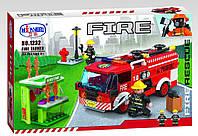 Конструктор WINNER 1232 Пожарные Пожарная машина 256 дет.