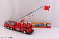 Пожарная игрушечная  машина с корзиной SH-9008