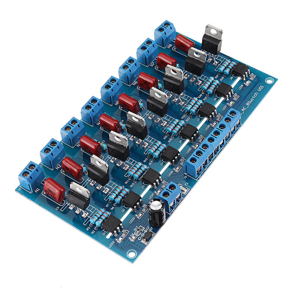 8CH Канал ПЛК Выход DC Транзистор Усилитель Изоляция Пластина Плата - 1TopShop
