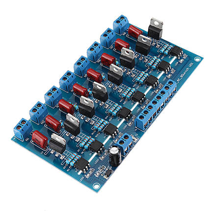 8CH Канал ПЛК Выход DC Транзистор Усилитель Изоляция Пластина Плата - 1TopShop, фото 2