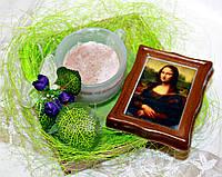 """Набор мыла ручной работы """"Чашка кофе и картина с Мона Лизой"""""""