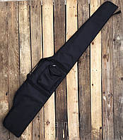 Чехол ружейный 130 см с оптикой Черный (Украина)