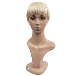 Накладная челка из натуральный волос. Цвет #613 Блонд