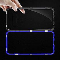 Bakeey Магнитная адсорбционная защитная Чехол Для Samsung Galaxy S10e / S10 / S10 Plus Бампер из алюминиевого сплава Закаленное стекло - 1TopShop, фото 3