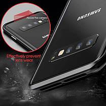 Bakeey Магнитная адсорбционная защитная Чехол Для Samsung Galaxy S10e / S10 / S10 Plus Бампер из алюминиевого сплава Закаленное стекло - 1TopShop, фото 2