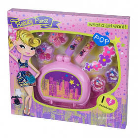 Набор детской декоративной косметически Beauty Purse Cosmetic Collection