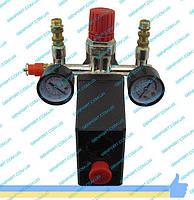 Автоматика (реле давления) прессостат  на компрессор в сборе 220