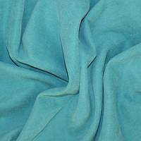 Декор-нубук хлопок голубая бирюза