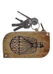 Ключница DM 01 Воздущный шар коричневая - 176591