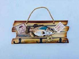 Ключница с крючками Рыбацкий Улов - 152781