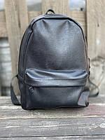 Рюкзак чорний натуральний L2x1
