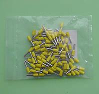 Наконечник кабельный втулочный НВ 1.0 / 8 мм., упаковка - 100 шт.