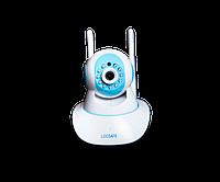 IP-камера LOOSAFE LS-F2 с датчиком движения и ночным видением Белый (hubber-68)