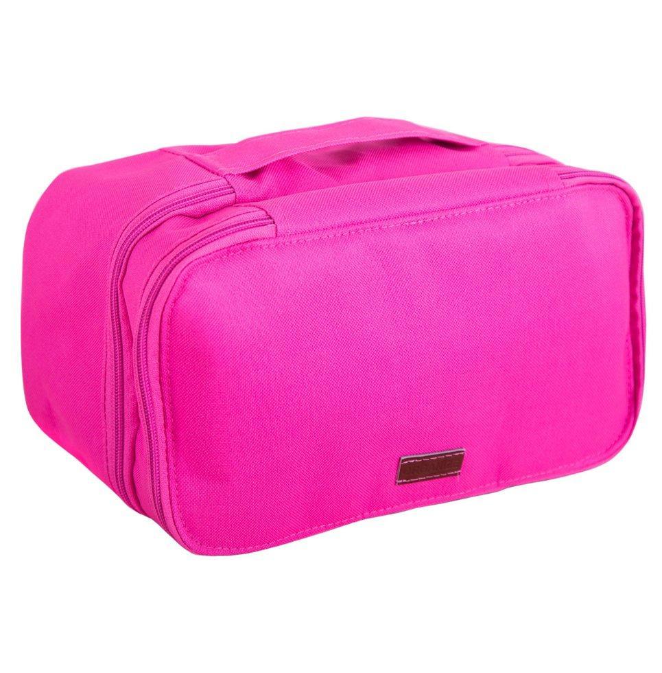 Двухуровневый дорожный органайзер ORGANIZE K015 розовый