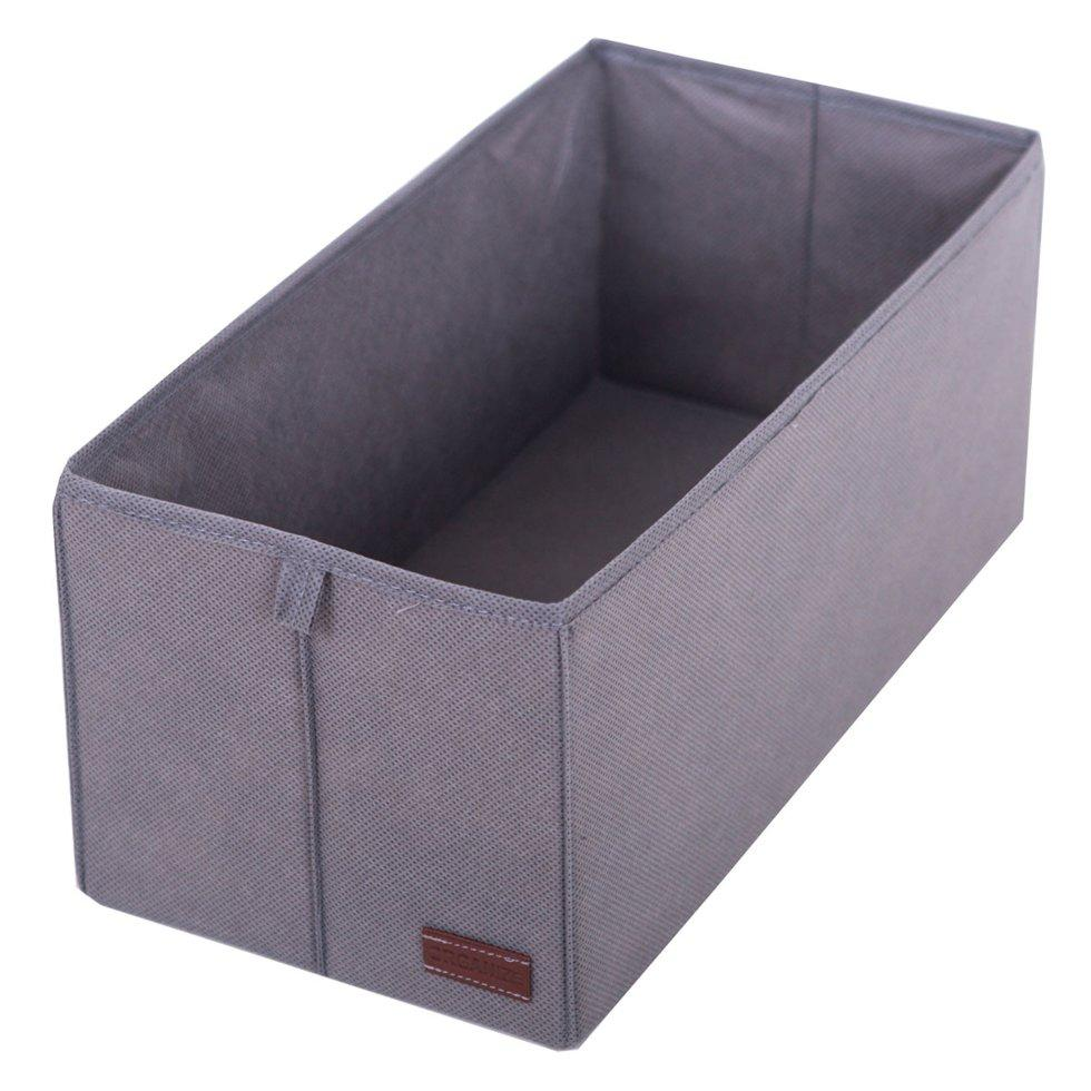 Коробочка для вертикального хранения ORGANIZE HY-S серый