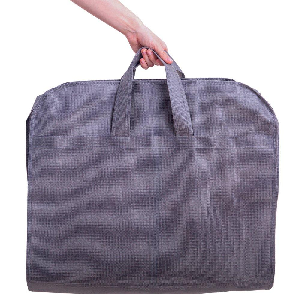 Кофр для одежды с ручками 110*10 см ORGANIZE Hch110-10 серый