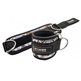 Манжеты на лодыжку Ankle Strap Camo PS-3470 Grey-Black R145366