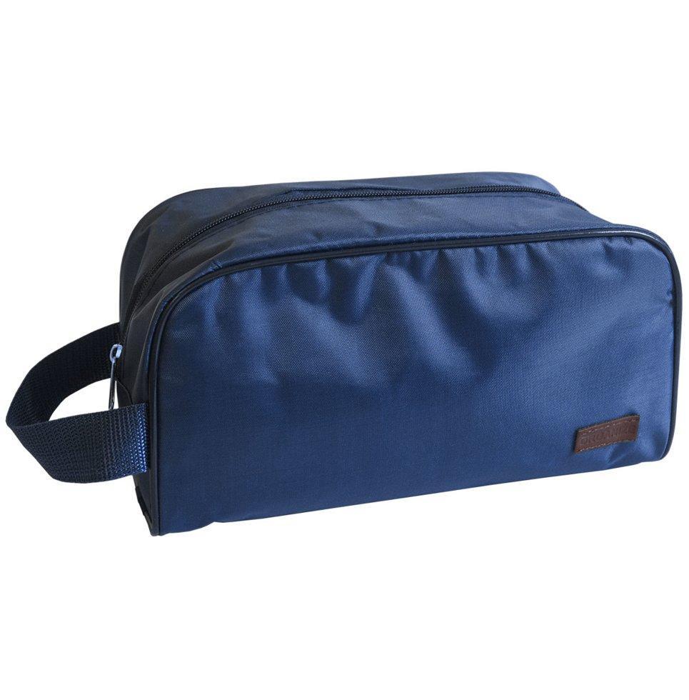 Мужская дорожная косметичка\органайзер для путешествий ORGANIZE K011 синий