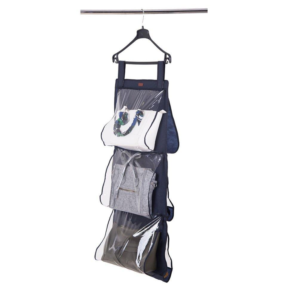 Подвесной органайзер для хранения сумок L ORGANIZE HBag-L синий