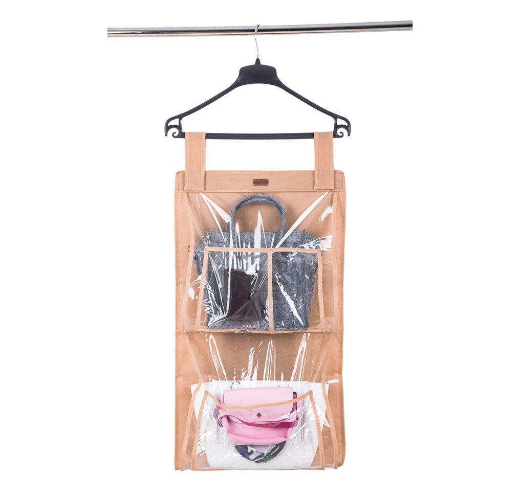 Подвесной органайзер для хранения сумок Plus ORGANIZE HBag-Plus бежевый