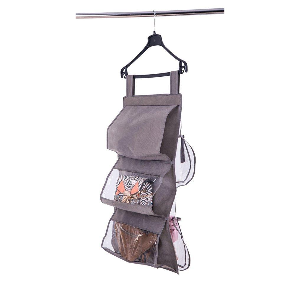 Подвесной органайзер для хранения сумок Plus ORGANIZE HBag-Plus серый