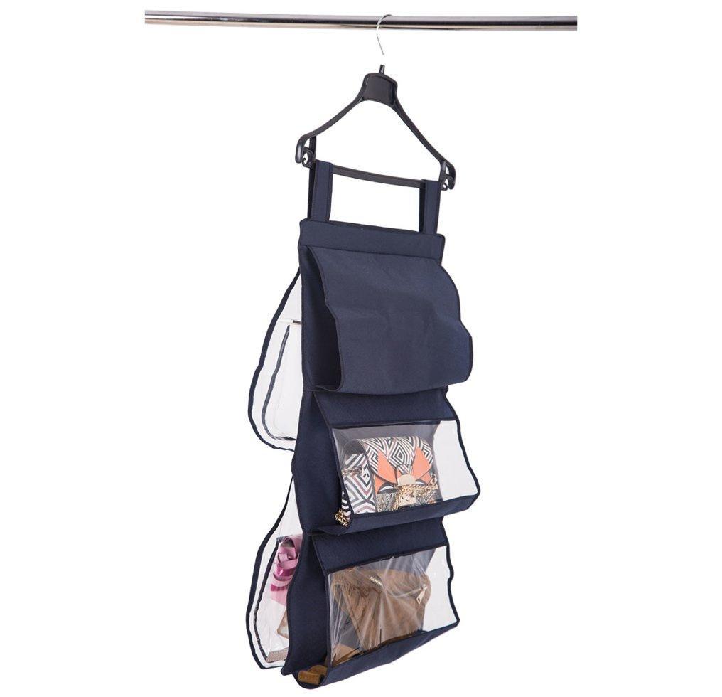 Подвесной органайзер для хранения сумок Plus ORGANIZE HBag-Plus синий