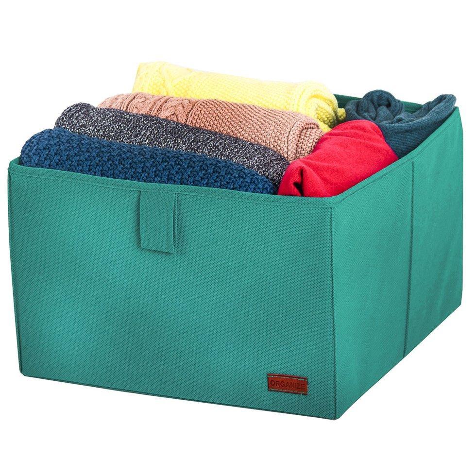 Ящик-органайзер для хранения вещей L ORGANIZE HY-L лазурь