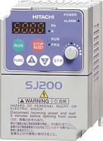 Преобразователь частоты однофазный векторный WJ200-002SFE\MX2-AB002E, мощность 0,2 кВт