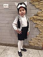 Детский карнавальный костюм черного  котика, фото 1