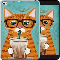 Чехол EndorPhone на Xiaomi Mi Pad 2 Зеленоглазый кот в очках (4054u-313)
