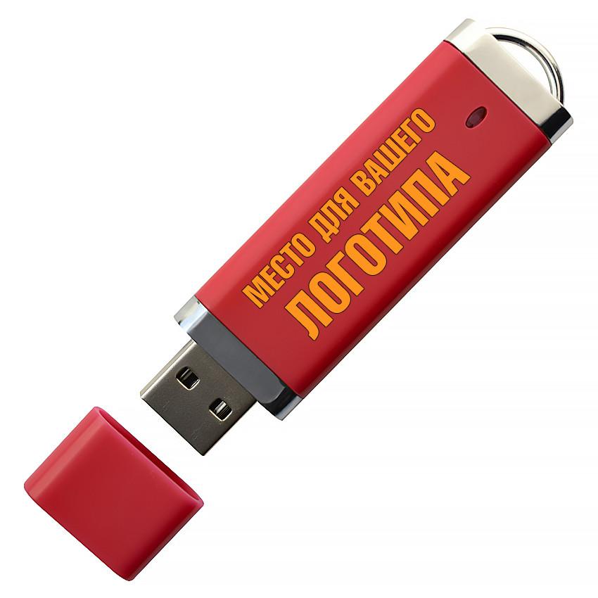 USB флеш-накопитель, 64ГБ, красный цвет (0707-4 64ГБ)