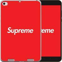 Чехол EndorPhone на Xiaomi Mi Pad 2 Supreme Красный с белым (3987u-313)