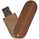 Деревянный USB флеш-накопитель, 32ГБ, коричневый цвет (0201-2 32ГБ), фото 3